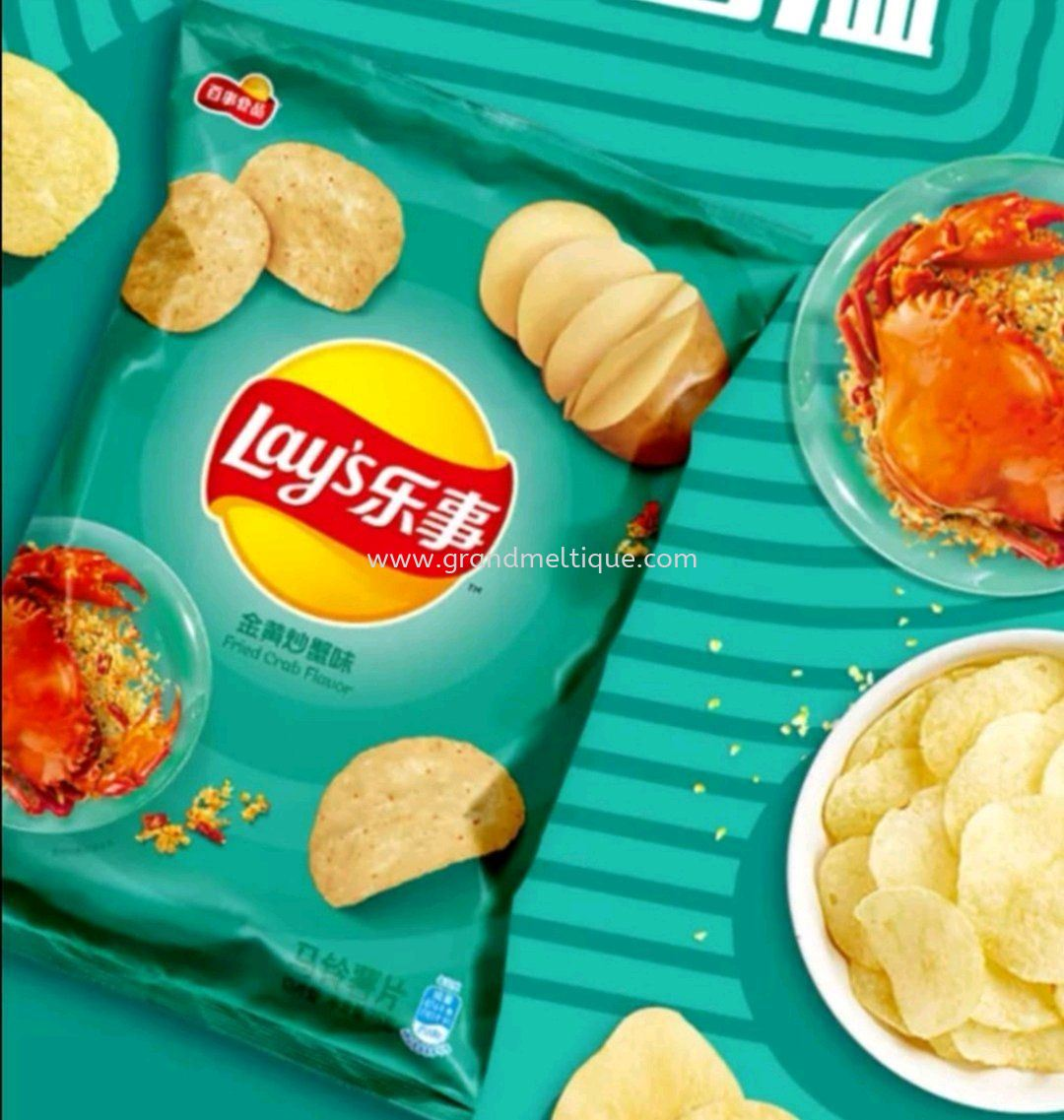 LAY'S FRIED CRAB CHIPS