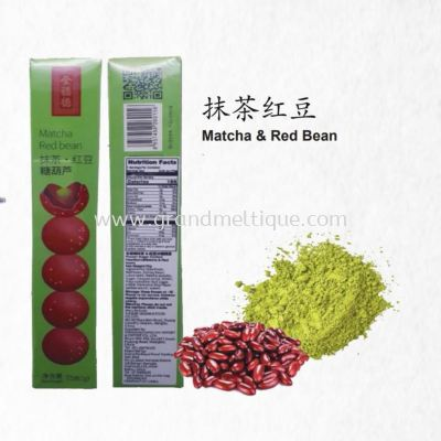 TANGHULU MATCHA & RED BEAN