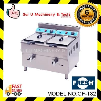 FRESH GF-182 Gas Fryer Capacity 18+18L LPG Gas 2.8-3kpa