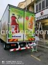 Sun-up Universal Truck lorry inkjet sticker warping at klang Kuala Lumpur TRUCK LORRY STICKER