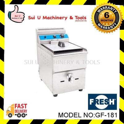 FRESH GF-181 Gas Fryer Capacity 18L LPG Gas 2.8-3kpa