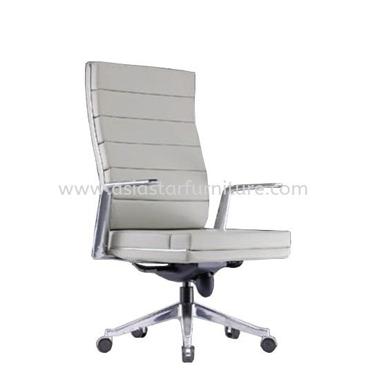 DIANTHUS DIRECTOR MEDIUM BACK CHAIR C/W ALUMINIUM DIE-CAST BASE