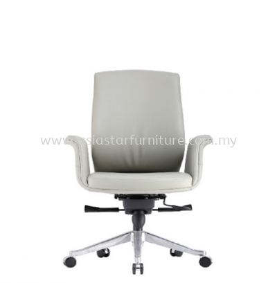 ZENOBIA DIRECTOR MEDIUM BACK CHAIR C/W ALUMINIUM DIE-CAST BASE