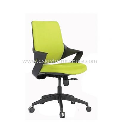 PRIMULA EXECUTIVE MEDIUM BACK CHAIR C/W NYLON ROCKET BASE