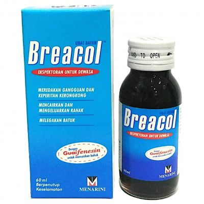 BREACOL COUGH SYRUP (ADULT) 60ML
