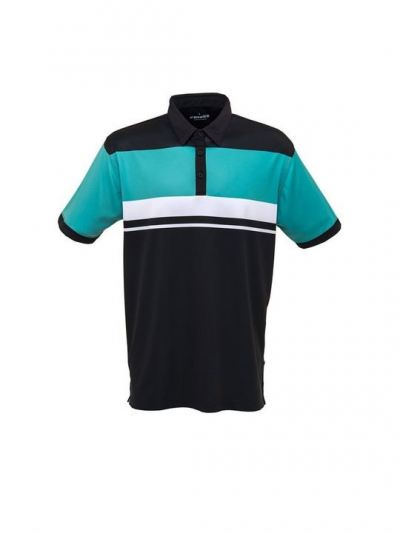 Fenix  Men's Polo Shirt Angus/Black