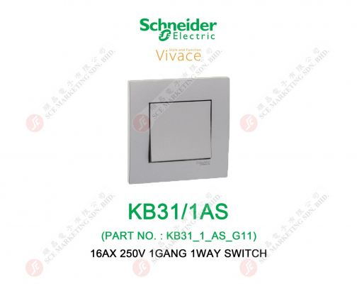 SCHNEIDER VIVACE KB31/1AS SWITCH