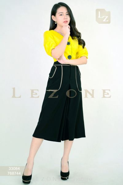768744 CONTRAST POCKET CULOTTES ��1ST 10% 2ND 15% 3RD 20%��