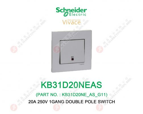 SCHNEIDER VIVACE KB31D20NEAS SWITCH