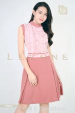 78526 PLAID A-LINE DRESS