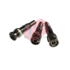 BNC RG59 DCOM Spring Type BNC Connector Coaxial Component