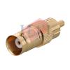 BNC-RCA GOLD BNC Connector Coaxial Component