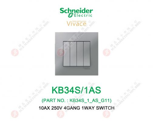SCHNEIDER VIVACE KB34S/1AS SWITCH