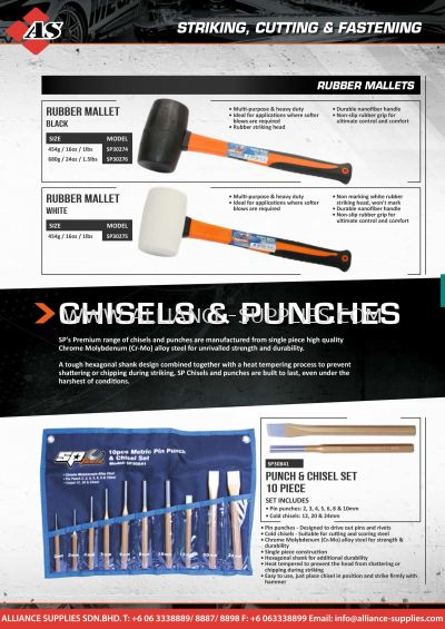 SP Chisels & Punches
