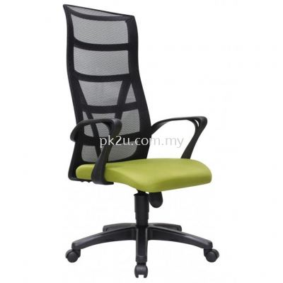 KASANO 3 - High Back Mesh Chair with PP Base (C1-BCMC-14-H)