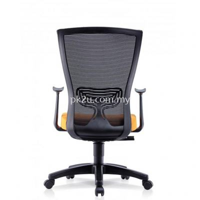 ERGO LITE - Mid Back Mesh Chair with Fixed Armrest (C1-BCMC-20-M)