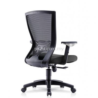 ERGO LITE - Mid Back Mesh Chair with Adjustable Armrest (C1-BCMC-20-M-AA)
