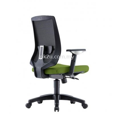 AMBER - Mid Back Mesh Chair with Adjustable Armrest (C1-BCMC-25-M-AA)