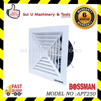 "BOSSMAN APT250 Ceiling Ventilating Fan 10"""
