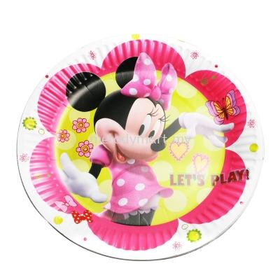 Paper Plate 10'S - Minnie