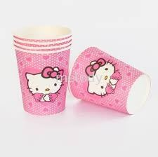 Paper Cup 10'S - Hello Kitty