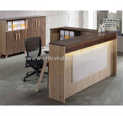 RECEPTION COUNTER TABLE C/W SIDE RETURN PXI RC18