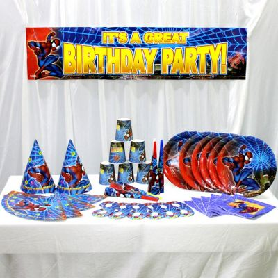 Party Package -7 in 1 *SPIDERMAN (F-PK7-SDM)