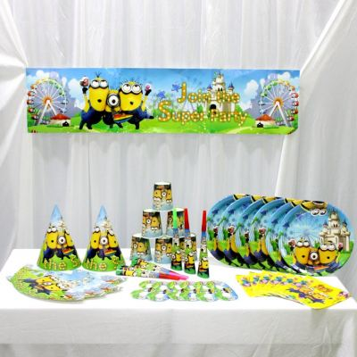Party Package -7 in 1 *MINIONS (F-PK7-MN)