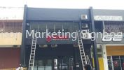 cheras 3D signboard 3D Box Up Lettering