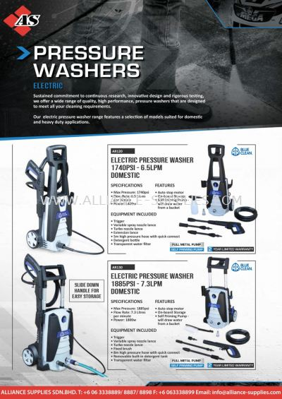 SP Electric Pressure Washers