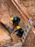 Hacking Work For Petronas Inspection Pipe Line