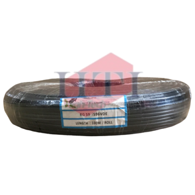 RG59 S96 Coaxial Cable with VDE 2 Core 100M