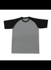 QD4809 Ash Grey/Black QD 48 Oren Sport - Quick Dry T-SHIRT