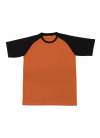 QD4807 Orange/Black QD 48 Oren Sport - Quick Dry T-SHIRT