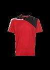 QD5705 Red/Blk/Wht QD 57 Oren Sport - Quick Dry T-SHIRT