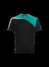 QD5702 Blk/Emerald/Wht QD 57 Oren Sport - Quick Dry T-SHIRT