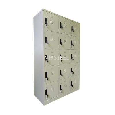 15 COMPARTMENT LOCKER