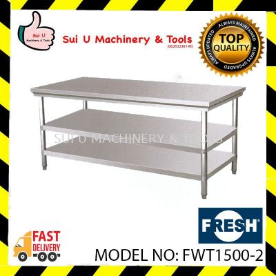 FRESH FWT1500-2 Working Table 2 Layer 150x76x85cm