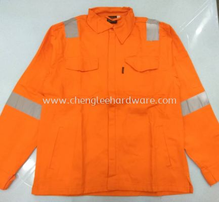 ( ORANGE)  REFLECTOR JACKET (006341)