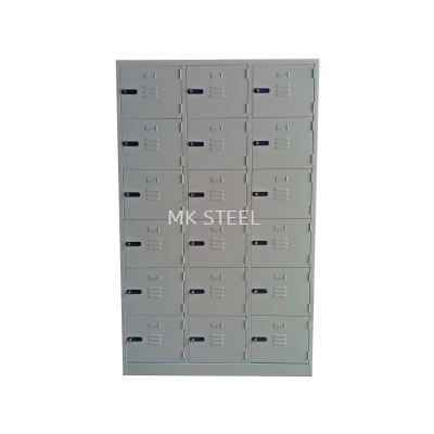 18 COMPARTMENT LOCKER - COMBINATION LOCK