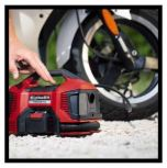 EINHELL CORDLESS/CORDED 6 IN 1 HYBRID PORTABLE COMPRESSOR 18V,220-240V 50HZ 11BAR 2.2KG MODEL: PRESSITO