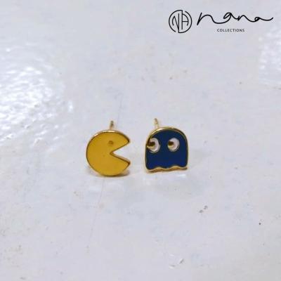 Cartoon - E243 Pac-Man (Blue)
