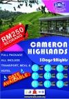 PAKEJ CAMERON 2020 PAKEJ MALAYSIA Pakej Pelancongan