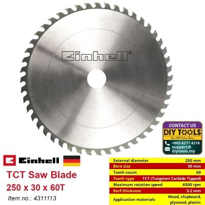 EINHELL TCT Saw Blade 250 x 30 x 60T 4311113