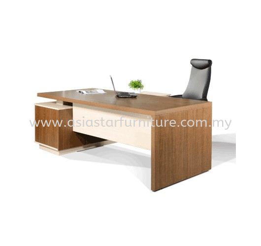 FERNI EXECUTIVE DIRECTOR OFFICE TABLE WITH SIDE OFFICE CABINET