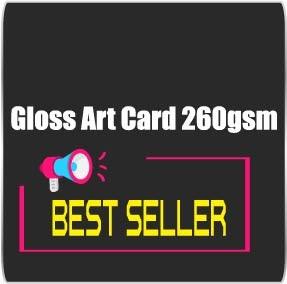 Gloss Art Card 260gsm