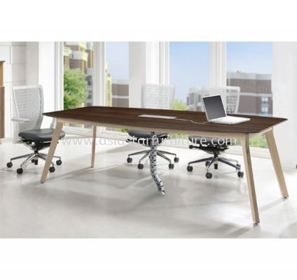 BOAT SHAPE MEETING TABLE C/W FLIPPER COVER PXI 2412