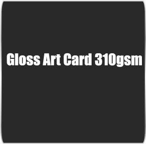 Gloss Art Card 310gsm