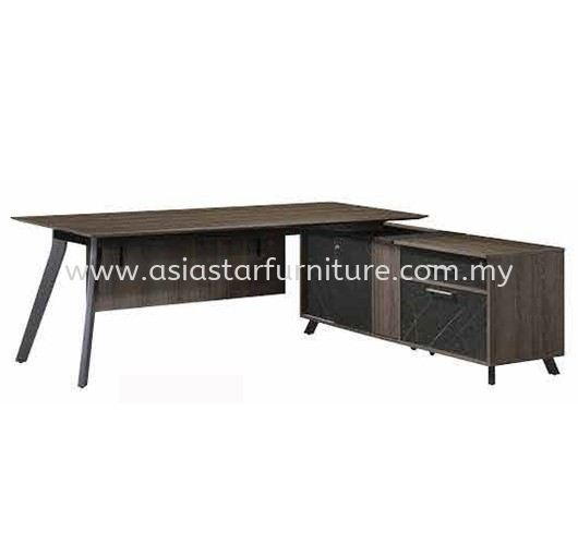 PAXOS EXECUTIVE DIRECTOR OFFICE TABLE C/W SIDE RETURN CABINET PXO 2190 - director office table Cheras | director office table Pandan Indah | director office table Taman Maluri | director office table Taman Muda