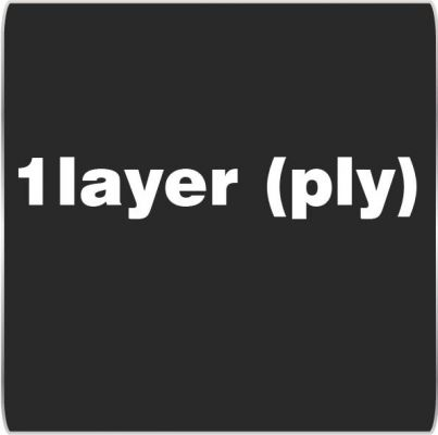 1 Layer (ply)